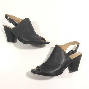 Naturalizer Takoda black dress sandal heels